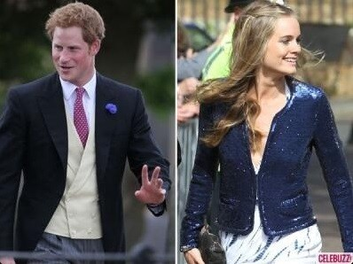 Prince Harry and his girlfriend Cressida Bonas