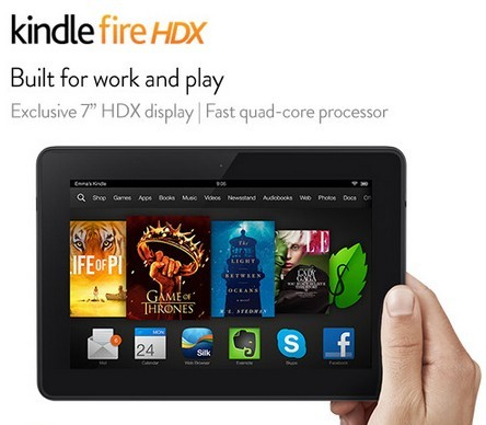 Amazon Kindle Fire HDX Release Date, Reviews: Android-Powered Tablet Is 'Reigning Champ In Power, Performance And Screen Resolution' Says Mashable