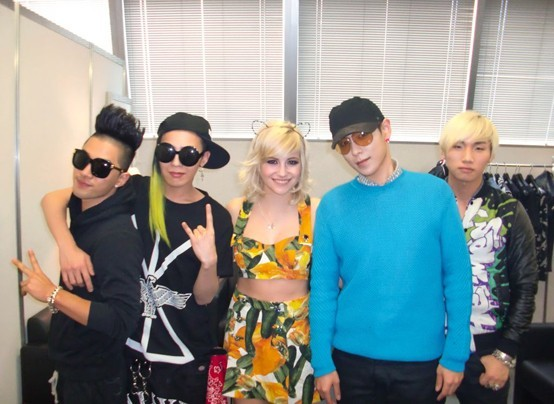 Big Bang Sweeps Pop Chart with 'Dancing on My Own' with Pixie Lott