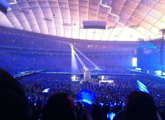 Super Junior's Successful Tour in Tokyo with 50,000 ELF!