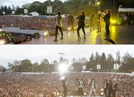 U-KISS Fires up 50,000 Audience at South America's Music Festival 'Evento 40'