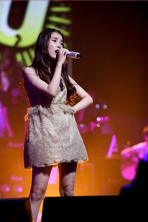 IU Looks Beautiful at Her Real Fantasy Concert