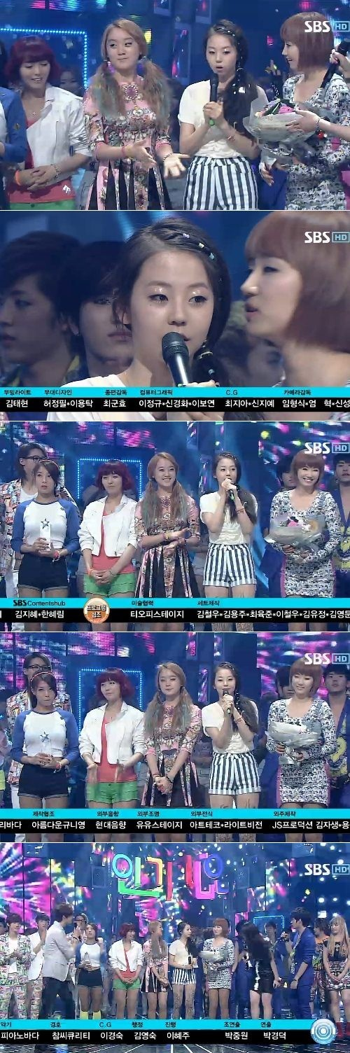 Wonder Girls 'Like This' Wins Mutizen on 'Inkigayo'