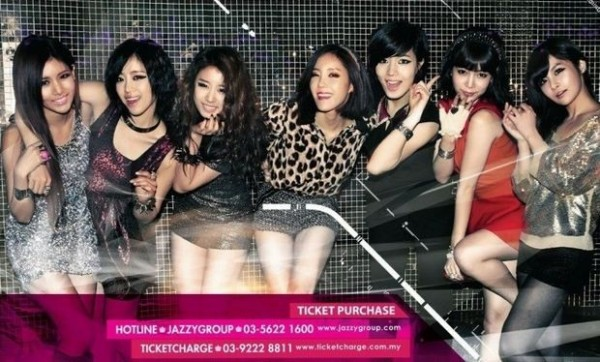 T-ARA's First Showcase in Malaysia This October