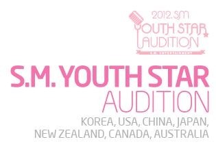 SM Entertainment 2012 Youth Star Audition in Seven Countries