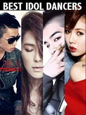 Big Bang Taeyang, Jay Park, Kahi, And 4Minute HyunA As Best Idol Dancers