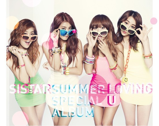 SISTAR, 'LOVING U' Number 1 On Music Charts