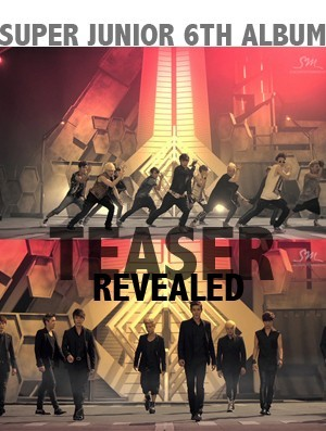 Super Junior Teaser Revealed, 'Powerful'