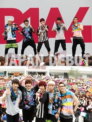 B1A4 Successful Debut In Japan, 50,000 Roaring Fans