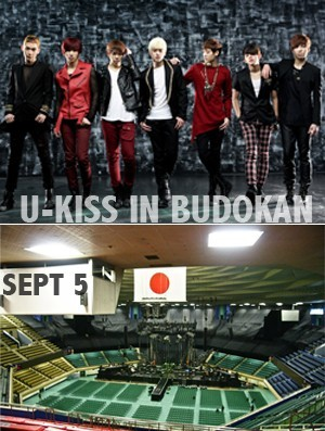 U-KISS, First Budokan Concert In Japan