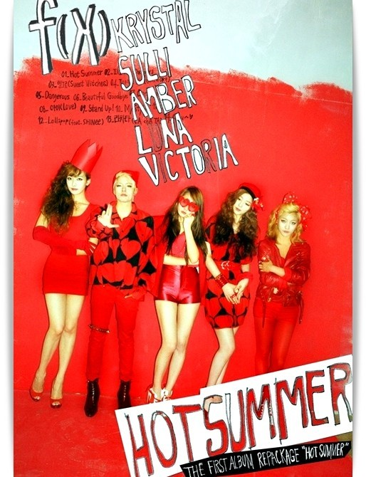 f(x)'s 'Hot Summer' To Make it Hot in Japan