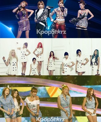 "2NE1, T-ARA, SISTAR The ""Music Bullies"""