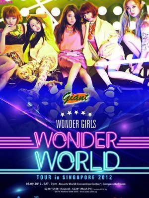 Wonder Girls to Hold Wonder World Tour Concert in Singapore!