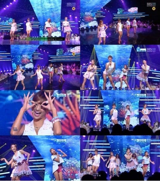 SISTAR, Girl Group Summer Representative Exciting Stage