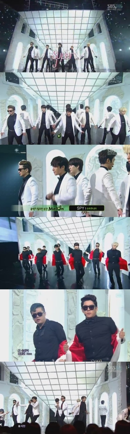 Super Junior's 'SPY' Performance Like a Hollywood Movie