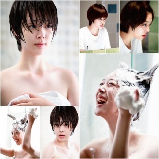 "f(x) Sulli Films her First Exposure Scene during ""To the Beautiful You"""