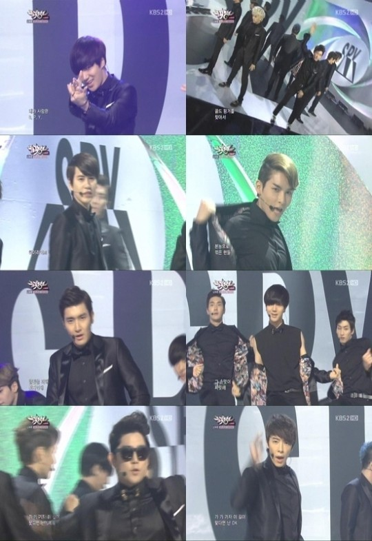 "Super Junior Melts the Heart's of Female Fans with ""Spy"" Bullet Performance"
