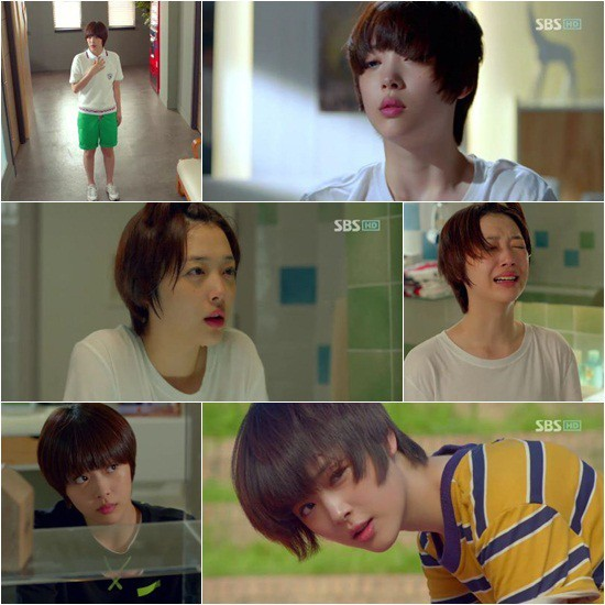 "f(x) Sulli on ""To the Beautiful You,"" 'When Did She Act so Well'?"