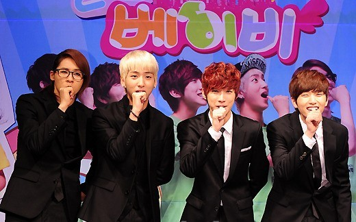 B1A4 Holds a Talent Donation Concert for the Traditional Market