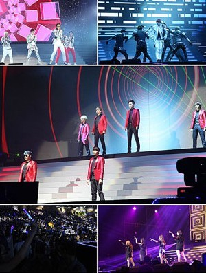 Super Junior-miss A-B1A4 Take Over Guangzhou with 8,000 Fans!