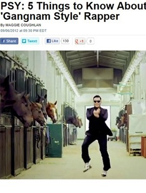 "U.S. People Magazine Features, ""5 Things to Know About the 'Gangnam Style' Rapper"""