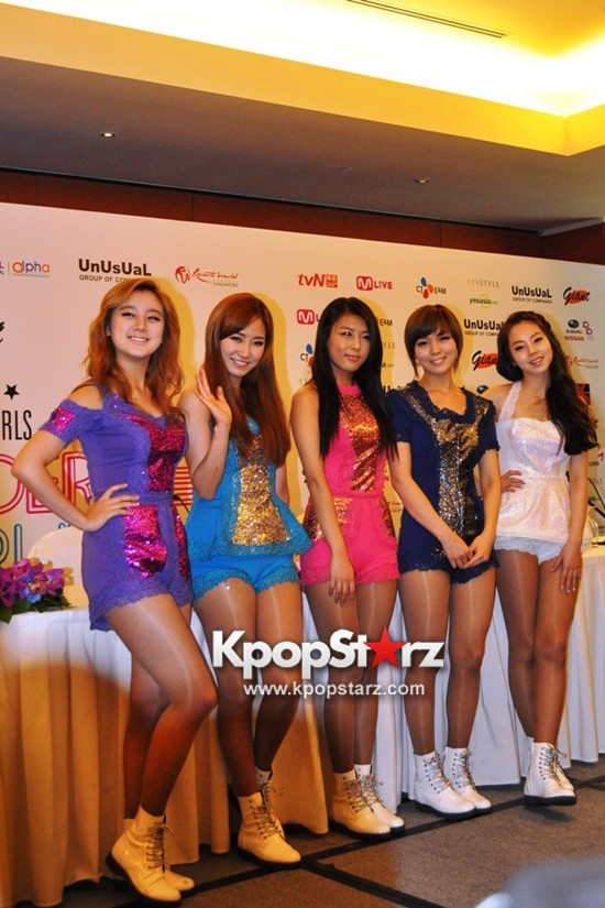 Wonder Girls Impress International Media At Wonder World Tour Singapore