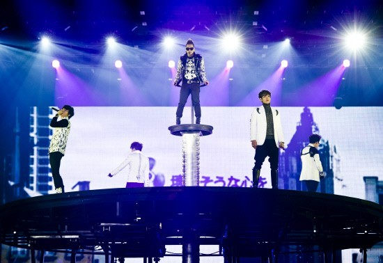 Big Bang Frist Korean Artist Performing 3-Dome Concert in Japan