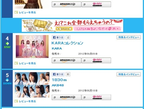KARA Special Album Ranks Number 4 on Japan Oricon Chart