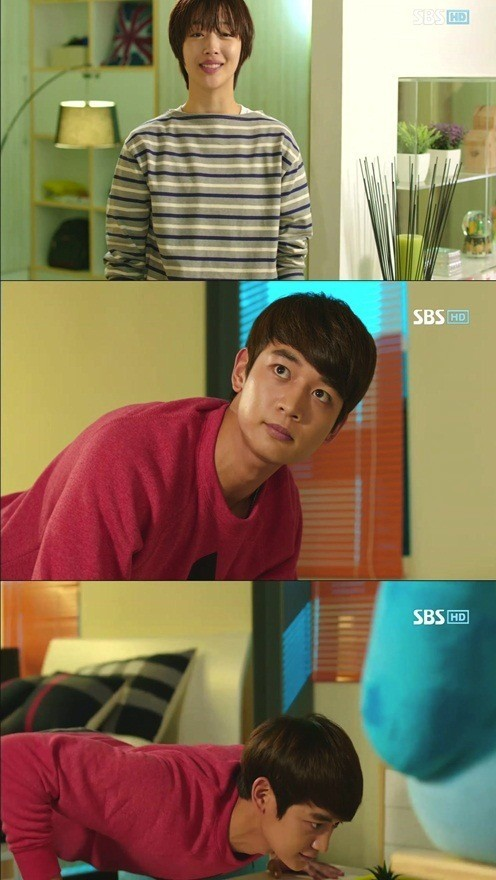 Tae Joon's feelings towards Jae Hee started to grow.