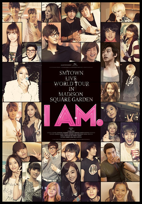 "SMTown's ""I Am"" to be on Blu-Ray on Nov. 6 in US"