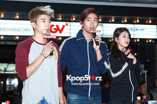 Suzy, Taecyeon, and Wooyoung at Reebok Fan Signing Event