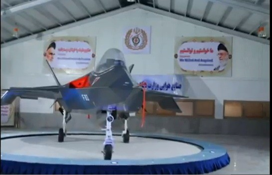 The fake stealth plane pictured appears to be Iran's attempt to show off military might.