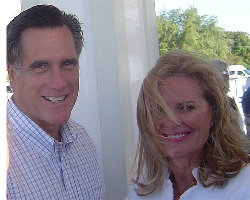 Ann Romney blames the media for her husband Mitt Romney's loss in the 2012 election.