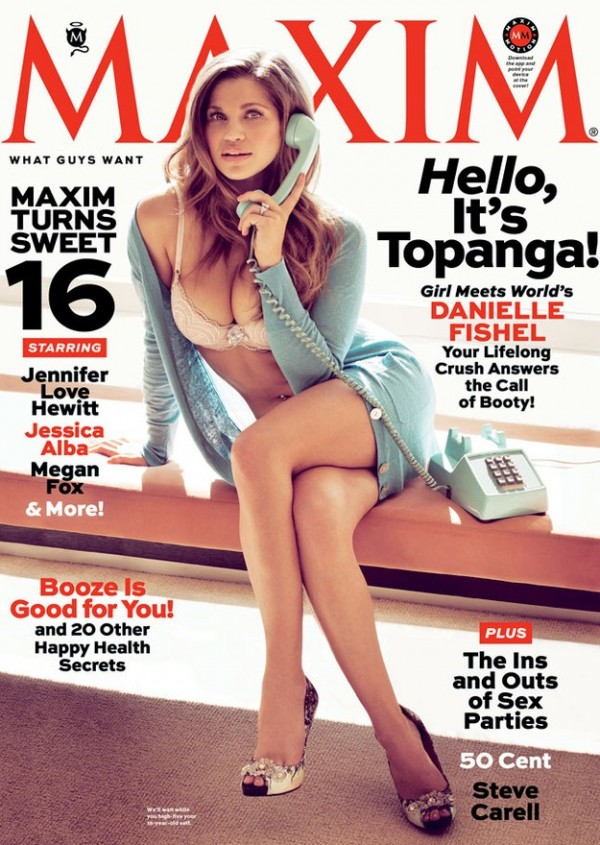 Topanga Maxim Cover And Photo Spread Includes Interview With The 90's Star