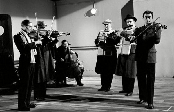 Wallace Hartley and the Titanic band