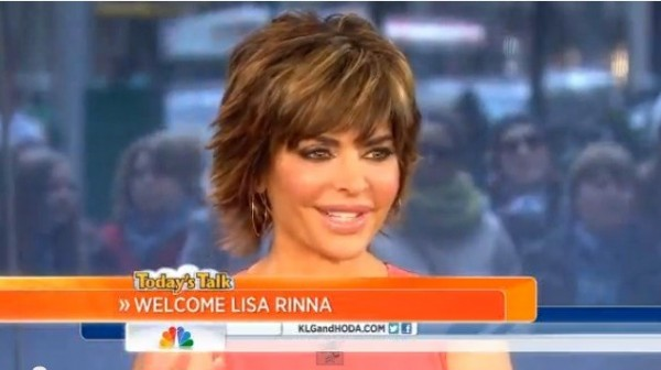 Lisa Rinna talks about her lip trouble on the Today Show