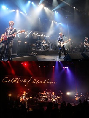 CNBLUE Holds Premiere Event in Japan for New Single 'Blind Love'