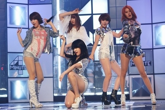 4minute Tops Korea Music Chart with 'What's Your Name?'