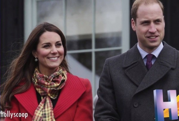 Prince William and pregnant Kate Middleton