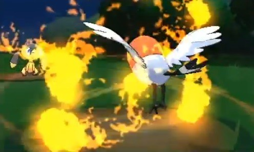 Pokemon X and Y: a list of new moves.