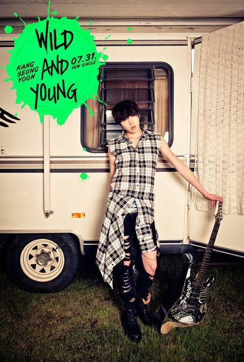 Kang Seung Yoon to Debut on 'Inkigayo' on August 4