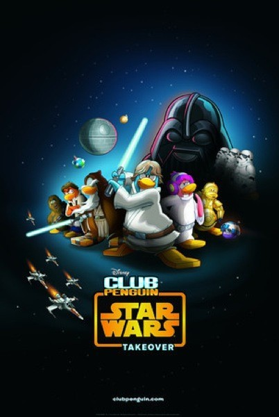 Club Penguin Star Wars Takeover Party