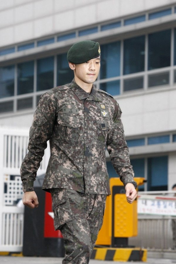 Singer Rain Postpones Post-Military Fan Meeting
