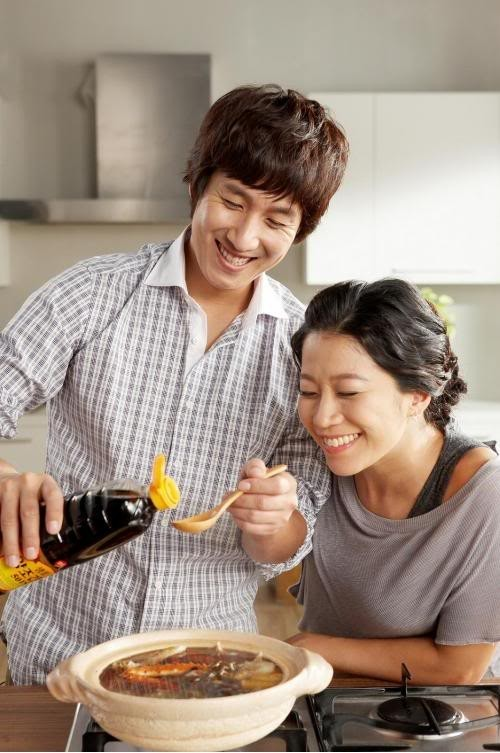 Lee Sun Kyun and Jeon Hye Jin