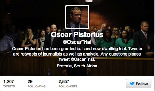 Oscar Pistorius Trial Date: Murder Case Of Double-Amputee Athlete Has Dedicated Twitter Account, Reeva Steenkamp Docu To Be Shown In South Africa