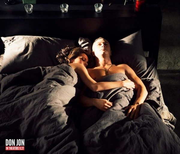 "Scarlett Johansson and Joseph Gordon-Levitt in ""Don Jon"""