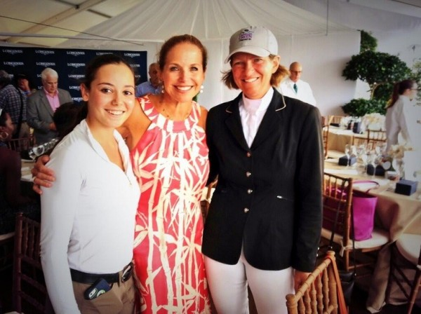 Katie Couric in the Hamptons over Labor Day weekend