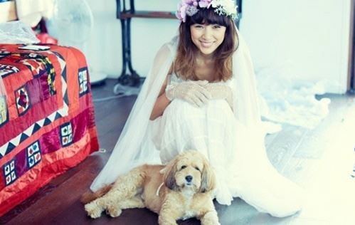 Lee Hyori and Lee Sang Soon Wedding Photos Revealed!!